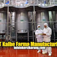 Lowongan Kerja PT Kalbe Farma Manufacturing (Kalbe Farma Tbk) 2020