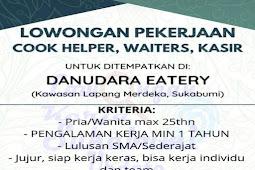 Lowongan Kerja Danudara Eatery