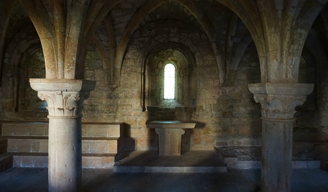 Le Thoronet Abbey Chapter House