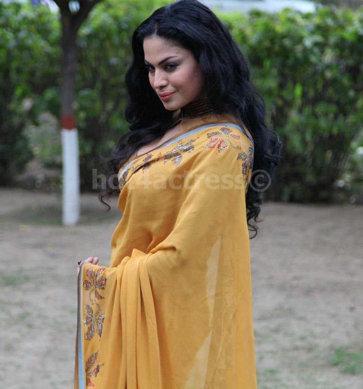 Veena Malik Hot In Saree Pics - Hot 4 Actress-8329