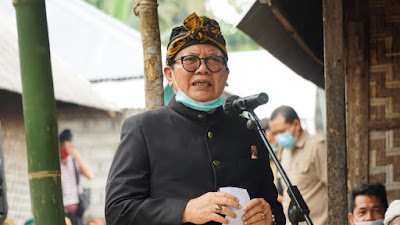 Hadiri Ritual Nyentulak Desa, H. Rumaksi Sampaikan Pentingnya Persatuan dan Menerima Perbedaan
