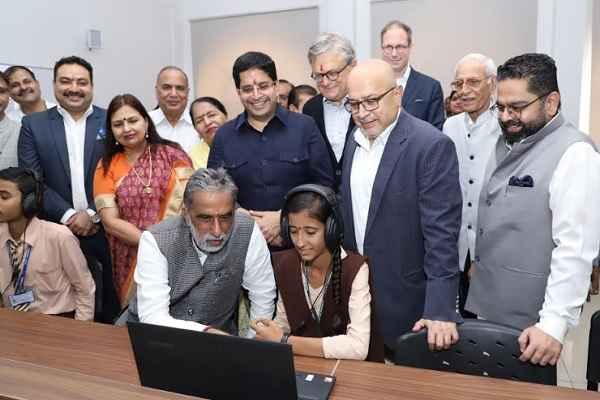 minister-krishan-pal-gurjar-inaugurated-skiil-development-lab-center