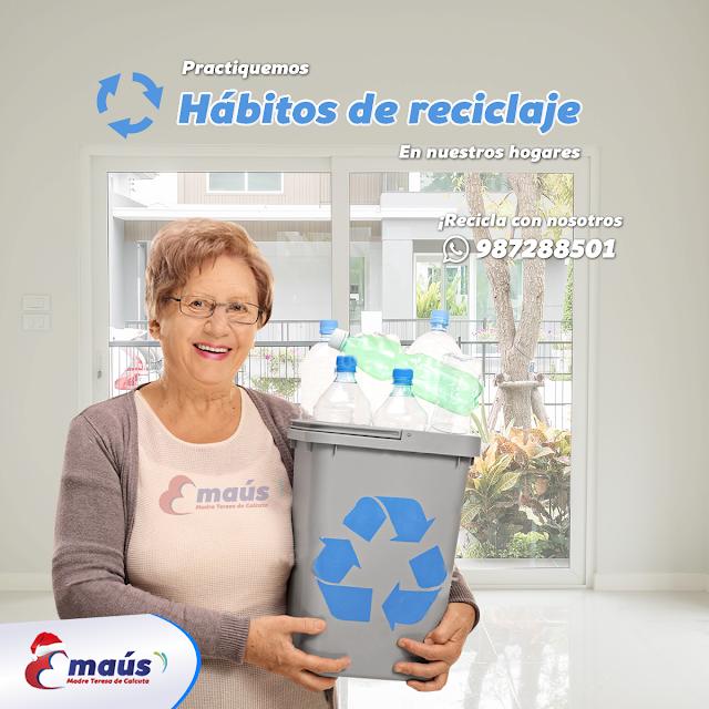 Practiquemos hábitos de reciclaje