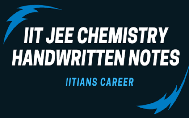 inorganic chemistry notes for iit jee pdf
