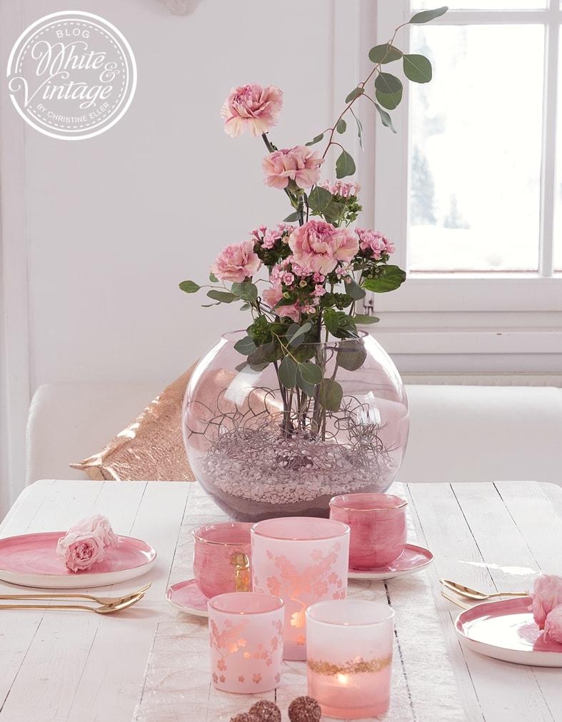 Blumengesteck selber machen - DIY-Anleitung.