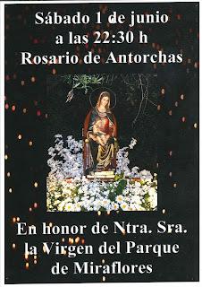 1 de junio de 2019: Rosario de las antorchas