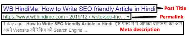 How to Write SEO friendly Article in Hindi - Step by Step