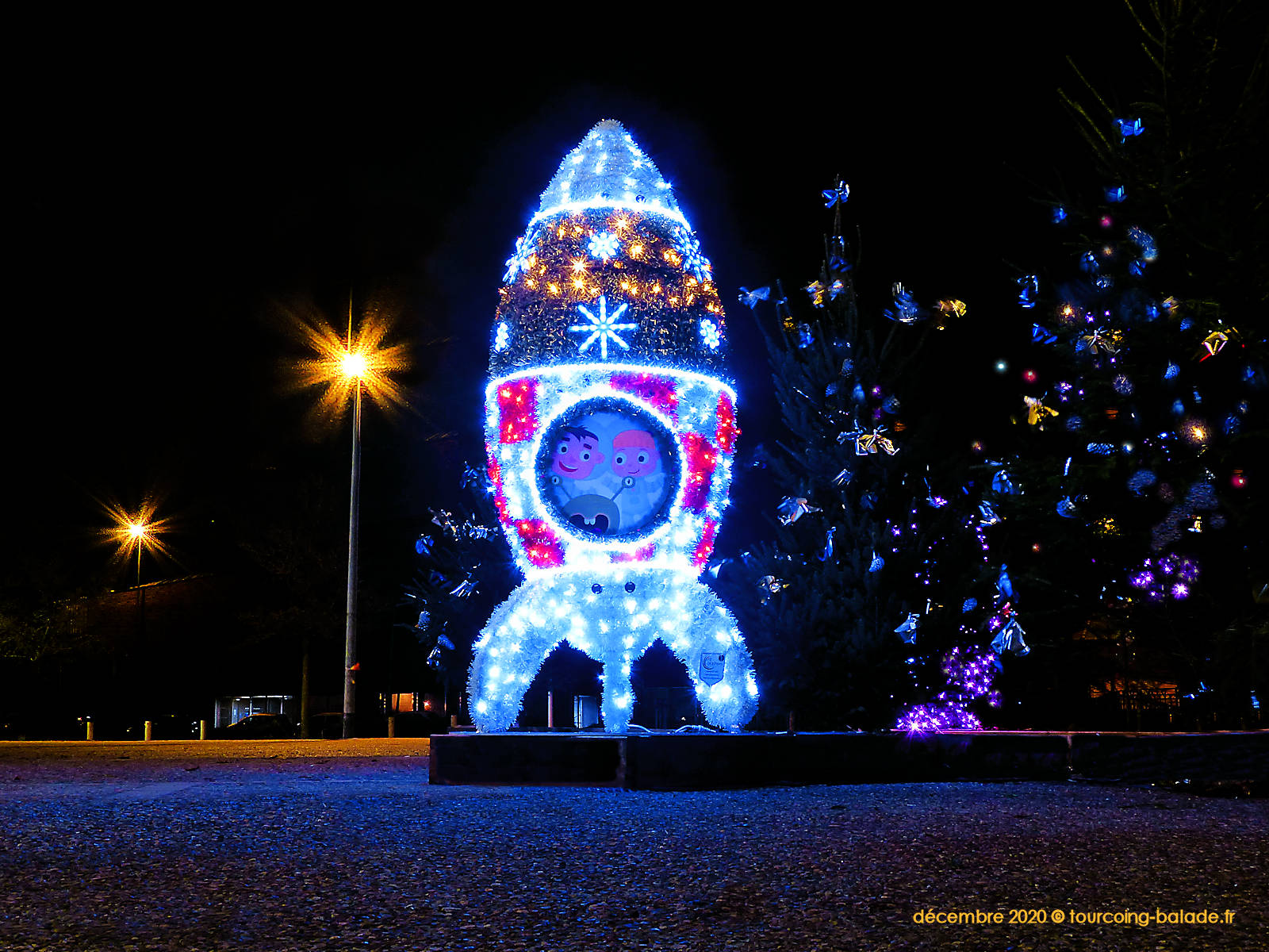 Tourcoing illumine Noël 2020