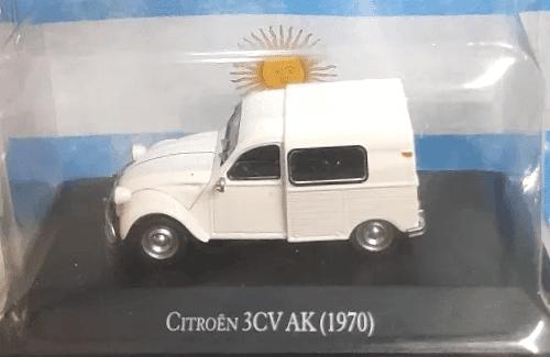 citroën 3cv ak 1:43, citroën 3cv ak 1970, citroën 3cv ak 1970 autos inolvidables argentinos, autos inolvidables argentinos salvat