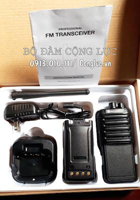 Bộ sản phẩm máy bộ đàm Motorola Gp-820 chính hãng