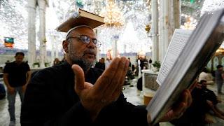 Ritual Penganut Syiah Rayakan Ramadhan di Komplek Makam Sahabat Ali RA [Foto]