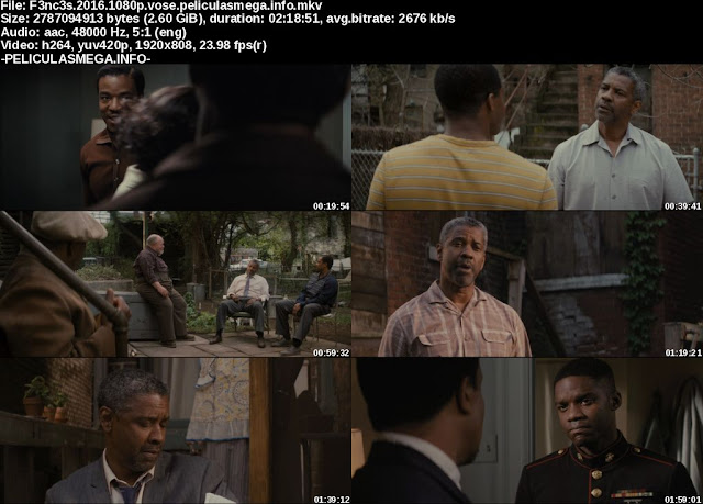 Descargar Fences Subtitulado por MEGA.