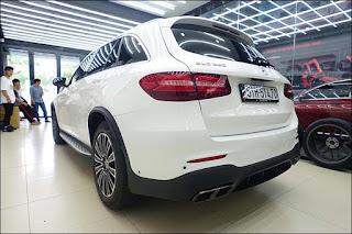 Ưng Hoàng Phúc mạnh tay lột xác Mercedes GLC 250 4MATIC thành Mercedes AMG GLC 63 4MATIC