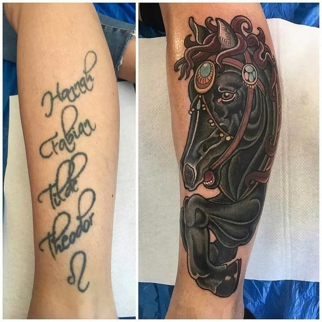 cover up a tattoo with another tattoo