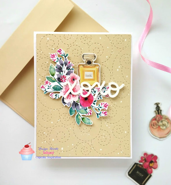 CIC, Ephemera, die cutting, Craftangles, Lawn Fawn, simon says stamps stitched whirl background, lawn fawn XOXO card, Everyday cards, With Love card, Quillish,