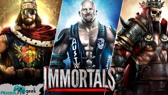 تحميل لعبة WWE Immortals 2018 مهكرة مجانا للاندرويد
