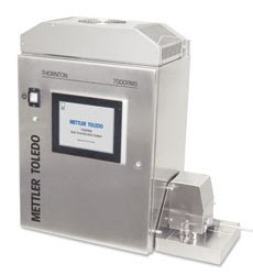 continuous on-line microbial monitor for pharmaceutical waters