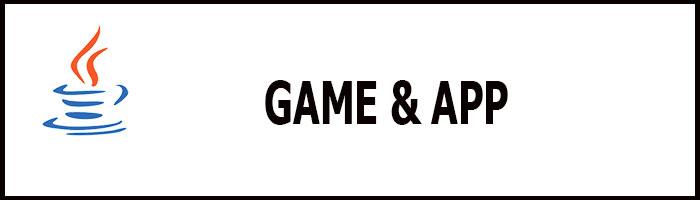 Java game và App alt