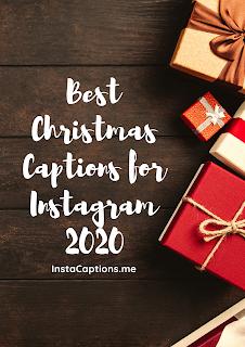 Best Christmas Captions for Instagram 2020 | InstaCaptions
