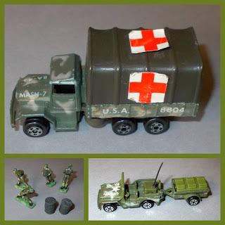 1:87th Scale; 4077th; 6x6 Truck; Alan Alda; Ambulance Toy; Bell 47; Bell Sioux; Chinook Helicopter; Helicopter Toy; Jeep; Korean War; Latrine Playset; MASH; Mash Play Set; Medics; Moble Army Surgical Hospital; Movie Tie In; Small Scale World; smallscaleworld.blogspot.com; Toy Ambulance; Trailer; TV Related; TV Tie Ins; UH-13h Sioux; Zee Toys; Zee/Zyll/Zylmex;