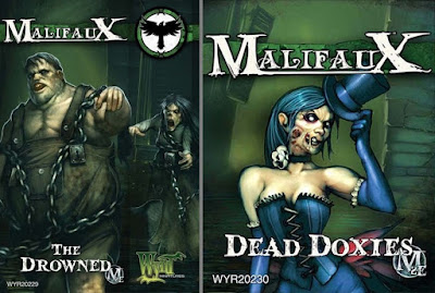 Malifaux - The Drowned + Dead Doxies