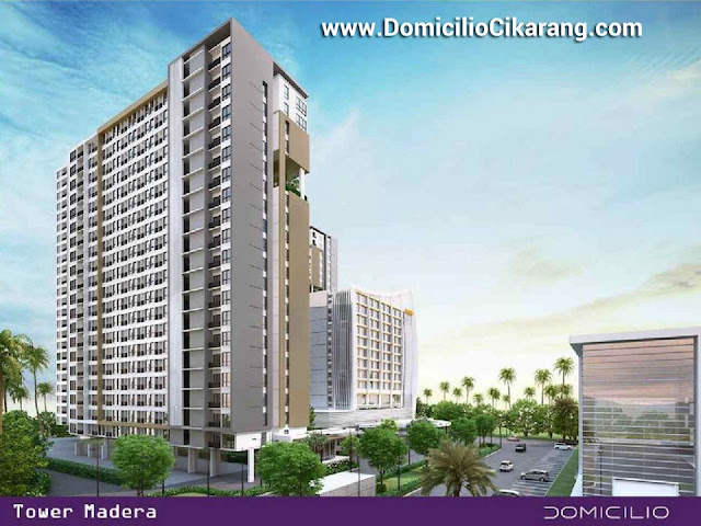 Dijual Perdana Apartemen Domicilio Cikarang Bekasi Tower A