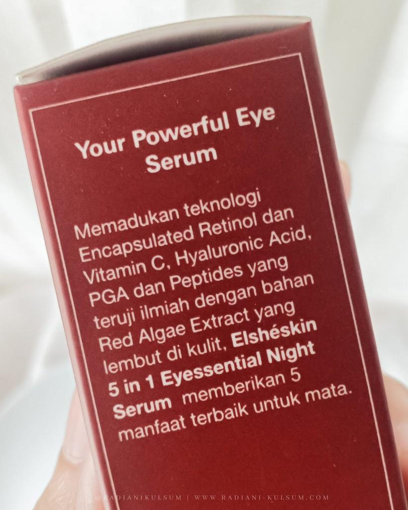 ElsheSkin 5 in 1 Eyessential Night Serum