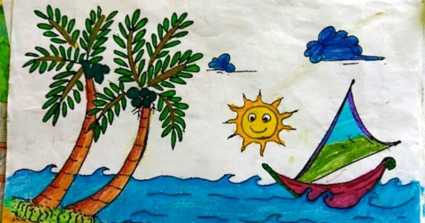 Karya Gambar Mewarnai Anak TK dan PAUD  Gambar Mewarnai