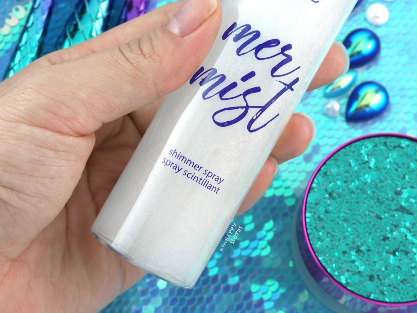 Tarte Mermaid Collection | Mer-mist Shimmer Spray: Review