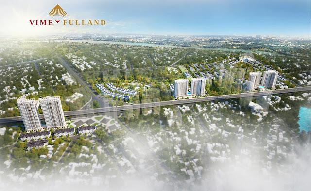 Phối cảnh tổng thể dự án Athena Fulland