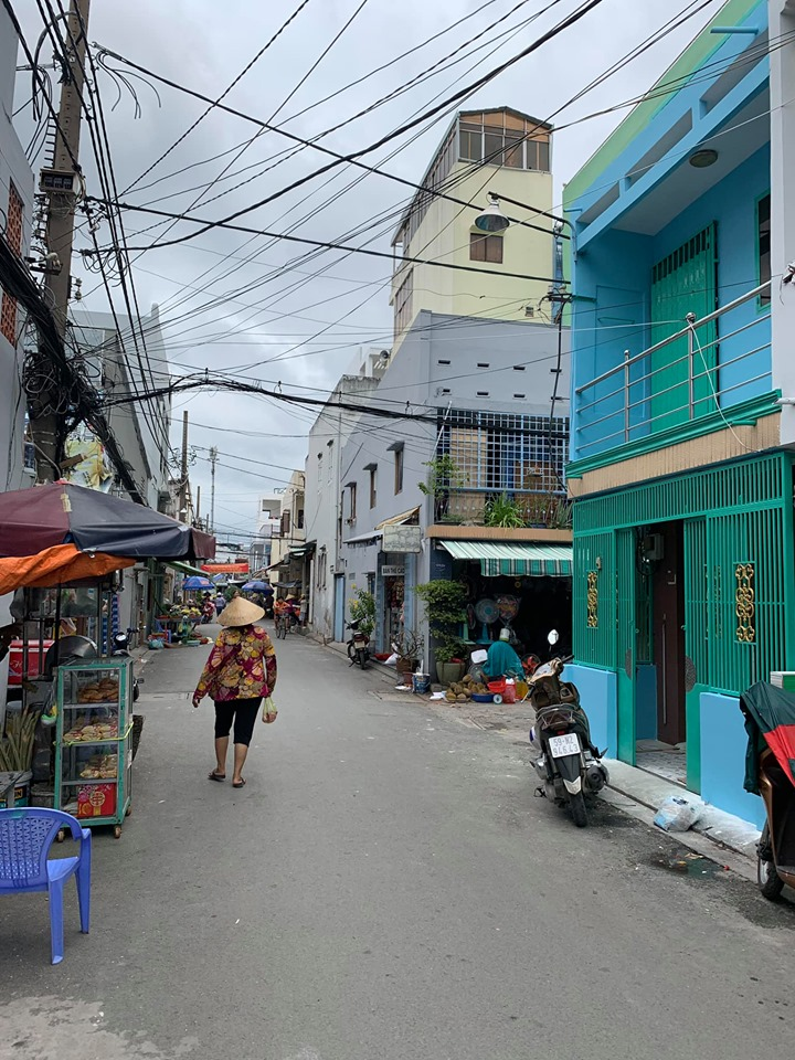 Bán nhà Hẻm xe hơi đường Bình Tiên phường 7 Quận 6. DT 3,5x11,3m