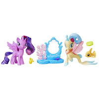 MLP the Movie Twilight Sparkle and Princess Skysstar Friendship Moments Brushable