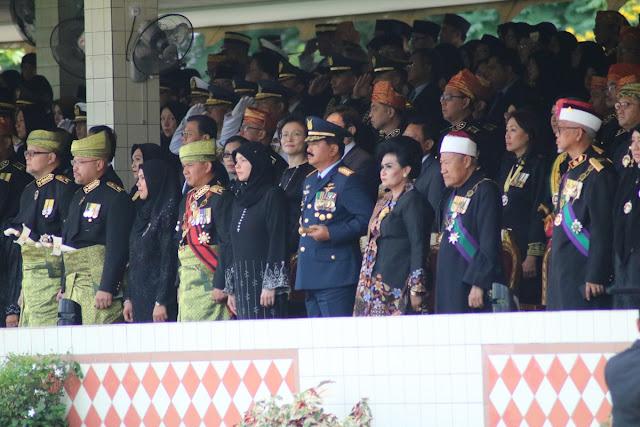 Panglima TNI Hadiri Upacara Peringatan HUT Ke-72 Sultan Brunei Darussalam
