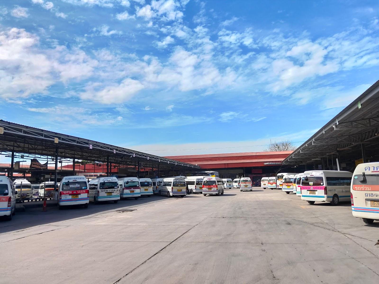 chatucak terminal bangkok