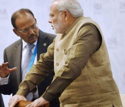 Prime Minister Modi and NSA Chief Ajit Doval in Jaish-e-Muhammad's hit list.