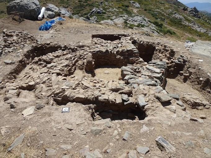 Νέα αρχιτεκτονικά κατάλοιπα προέκυψαν κατά την ανασκαφική έρευνα στο Γκουριμάδι Καρύστου,