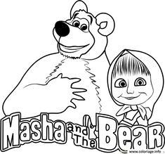 Vamos Colorir Desenhos Para Colori Masha E O Urso