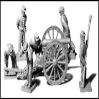 ACW8 2, Light Field Guns w/ 12 Man Crew (CSA)