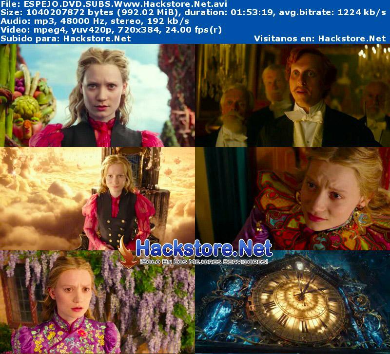 Capturas de Alicia a través del espejo (2016) DVDRip Subtitulada