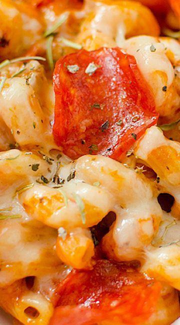 Instant Pot Pizza Pasta Recipe