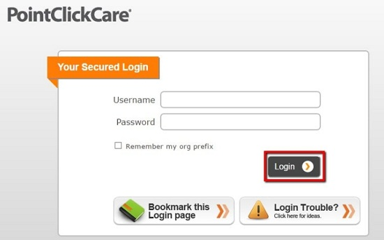 Point Click Care Login