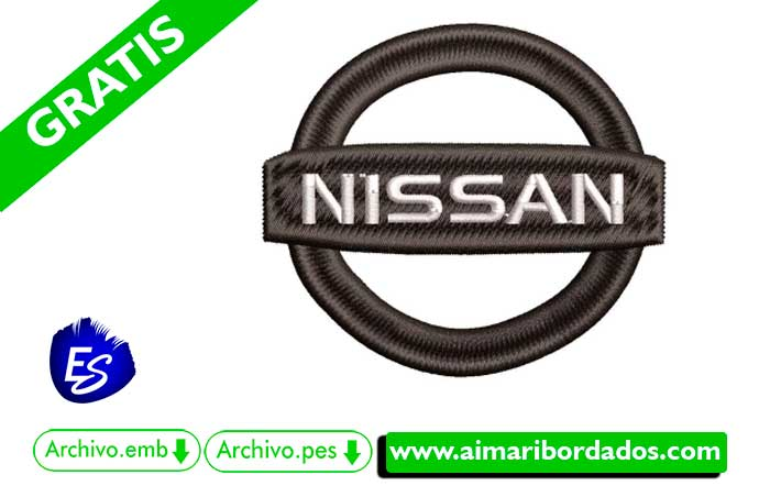 Logo Nissan Para Bordar