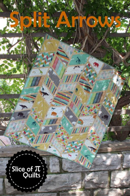 Split Arrows Quilt Pattern by Slice of Pi Quilts