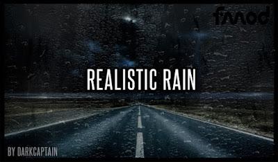 Realistic Rain v3.7.1 ETS2 1.37 & 1.38