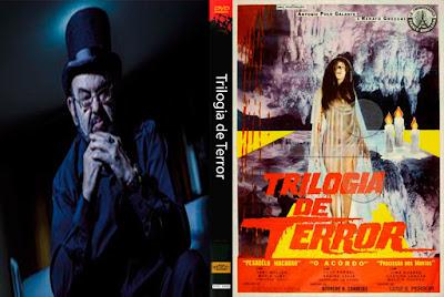Filme Trilogia de Terror DVD Capa