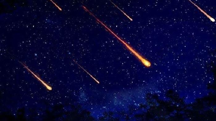 Lagit RI di Bombardir Hujan Meteor, Ini Pejalasan Ilmiah