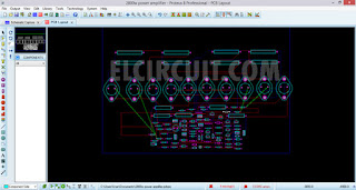 Layout PCB high power amplifier [Edited Version]