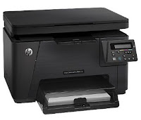 Laser multifunction printers offering superior surgery for all your documentation needs  HP Color LaserJet Pro MFP M176n Printer Driver Download