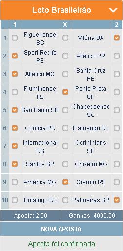 BETMOTION - BRASILEIRÃO 17ª RODADA