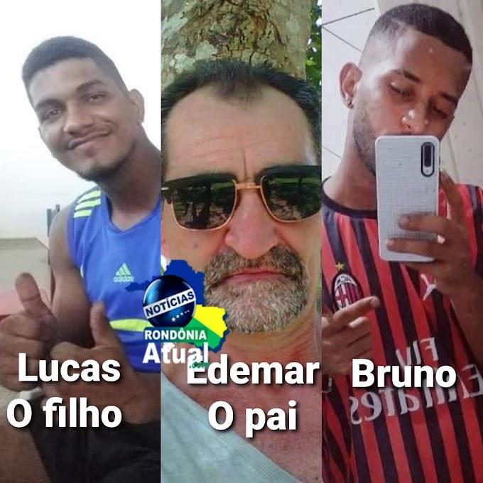 Briga generalizada termina em triplo homicídio na noite deste domingo em Ji-Paraná